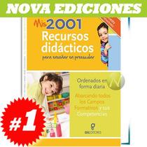 Mis 2001 Recursos Didácticos Para Enseñar Preescolar 1 Vol
