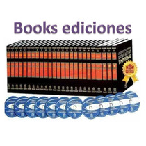 Gran Enciclopedia Universal 25 Tomos + 7 Cd Rom+ 5 Dvds