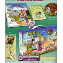 Biblia Infantil De Oro 1t + Dvd + Devocionario Grijalbo