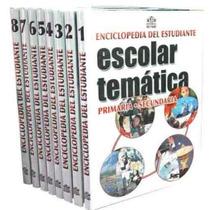 Enciclopedia Escolar Temática Primaria Y Secundaria Reymo