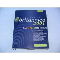 Enciclopedia Britanica 2001 Cd Rom Edición De Lujo