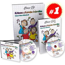 Ritmos Y Rondas Infantiles 1vol +1 Dvd + 1cd De Audio