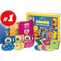 Sesame English Curso Infantil 3 Vols 6 Dvd Nueva Edición