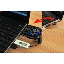 Ventilador Aspirador Enfriador Portatil Laptop Usb