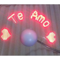 Ventilador Led Usb Con Mensajes Personalizados (usb Led Fan)
