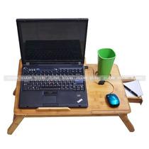 Base Mesa Enfriadora Bambu Laptop Con Ventilador 2clicmx