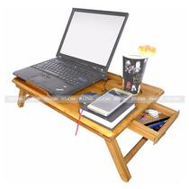 Enfriador Base Para Laptop Mesa Bambu Con Ventilador 2clicmx