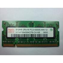 Memoria Ram 512mb 2rx16 Pc2-4200s-444-12-a0 Ddr-2
