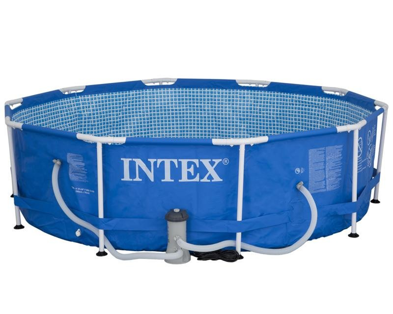 Enorme alberca intex piscina armable mas 3 metros con for Alberca intex redonda