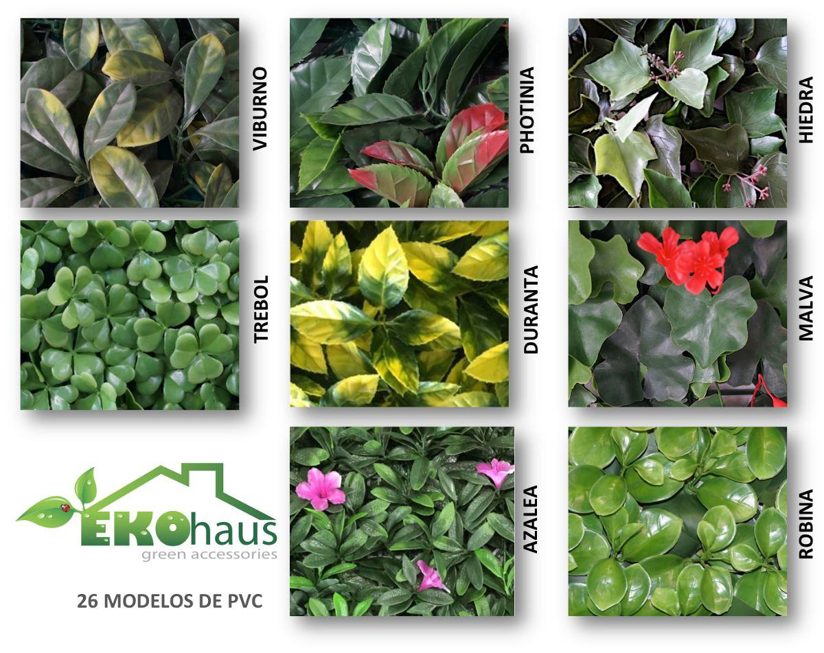 Enredadera artificial sintetica muro verde jardin vertical en mercadolibre - Plantas artificiales exterior ...