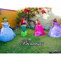 Show De Princesas,frozen, Monster High, Hadas,santa Claus...