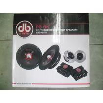 Db Drive Set De Medios Pro 6.5 3p 6k 250 Whatts Max Potencia