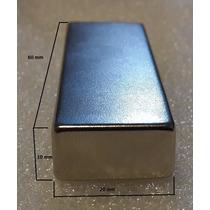 Imanes De Neodimio N52 De 60mm X 20mm X 10mm