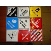 Etiquetas Identificacion De Sustancias Peligrosas 100 Pzas
