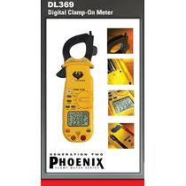 Amperimetro De Gancho Marca Uei Modelo Dl369