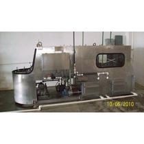 Lavadora Semiautomática De Garrafones En Ac. Inox.- 285000