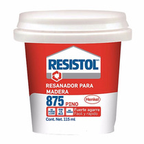 Resanador 875 Pino 115 Ml 1522061 Resistol