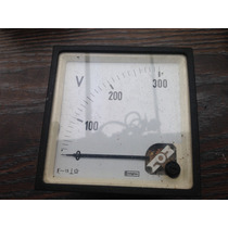 Volmetro 0 - 300 V Ca Crompton Envio Gratis