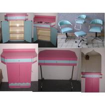 Set De 15 Muebles Para Estetica Empieza Tu Negocio !