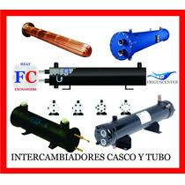 Intercambiador De Calor, Casco Y Tubo 10 Ton 2 Circ, Fc10c2c