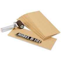 Caja Con 954 Plantillas De Carton Aceitado Para Estarcido
