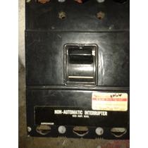 Interruptor Termomagnetico 3 Fases De 400 Amperes