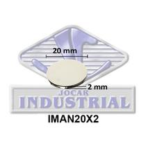Iman Permanente 20x2 Mm Neodimio N35,12000 Gauss, Magneto