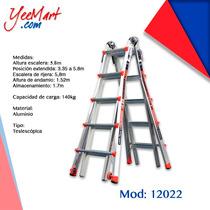 Escalera De Aluminio Modelo 22 Revolución Tipo Ia, Mod 12022