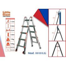 Escalera Telescópica De Aluminio, Modelo Classic 10101 Lg