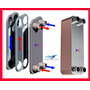 Intercambiador De Calor Placas R22 Y R410a, 60 Toneladas Fc