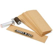 Caja Con 1300 Plantillas De Carton Aceitado Para Estarcido