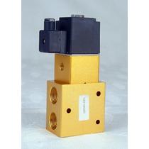 Valvula Solenoide 3/2 Alta Presion 580 Psi De 1/2