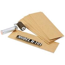 Caja Con 1145 Plantillas De Carton Aceitado Para Estarcido