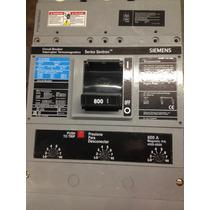 Interruptor Termomagnético 3 Polos 800 Amperes 600v Siemens