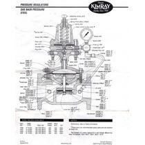 Válvula Reg. De Presión Mca. Kimray De 4 Bridada En 150#