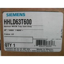 Siemens Arrancador Nuevo En Caja Hhld63t600 600 Amp 600 V