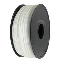 Filamento Abs 1.75 Mm Blanco Para Impresora 3d