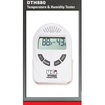 Termohigrometro Con Certificado De Calibracion Uei Dth880