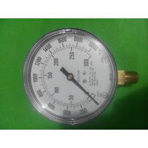 Manometro De 0-300 Psi 3 Ul Fm Para Sistemas Vs Incendio