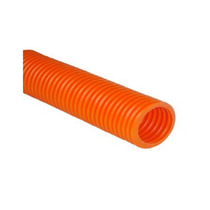 Poliducto Corrugado Naranja 1 1/2 Rollo 50 Mt