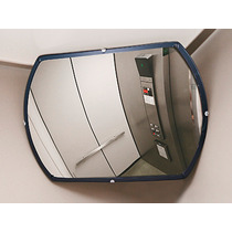 Espejo De Seguridad Baja Visibilidad De Vidrio De 20x30 Pulg