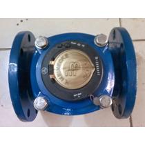 Medidor De Agua 4 Bridado Tipo Propela