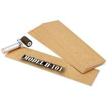 Caja Con 633 Plantillas De Carton Aceitado Para Estarcido
