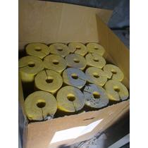 Aislamiento Térmico Para Tubería 1-1/2 X2 Fibra De Vidrio