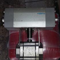 Válvula Esfera Con Actuador Neumático De 2
