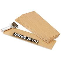 Caja Con 585 Plantillas De Carton Aceitado Para Estarcido