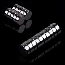 Imanes De Neodimio 10mmx5mm Grado N35 Magnetos Permanentes