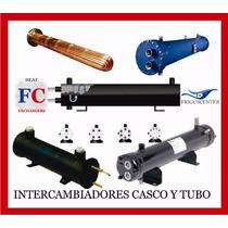 Intercambiador De Calor, Casco Y Tubo 10 Ton, 1 Cir, Fc10c1c