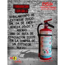 Promoción ¡extintor Nuevo 4.5 Kg. P.q.s. Con Regalos!