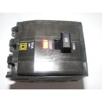 Interruptor Termomagnetico Qo De 3p X 50 Amp Squared